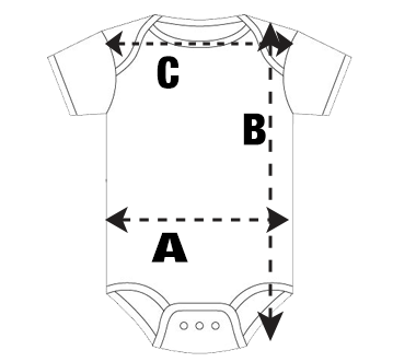 Infant Bodysuit Size Guide